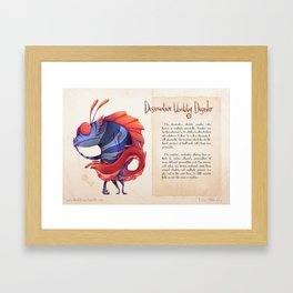 Real Monsters- Dissociative Framed Art Print