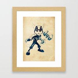 Ratchet Framed Art Print