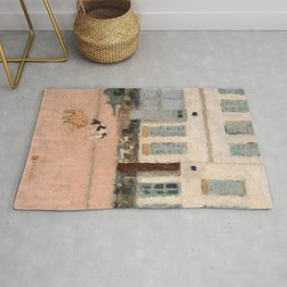Two Dogs In A Deserted Street - Digital Remastered Edition Rug