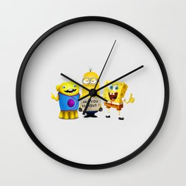 Perfect Team Wall Clock