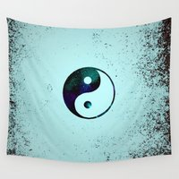 yin yang Wall Tapestries featuring Yin & Yang by Mr and Mrs Quirynen