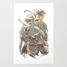 SP : The Stick Of Truth Art Print