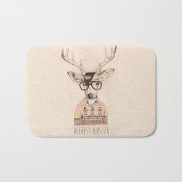 Deerest hipster Bath Mat