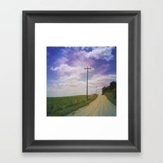 Summer Roadtrip Framed Art Print