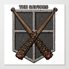 The saviors Canvas Print