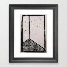 corner stall Framed Art Print