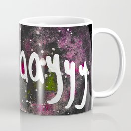 Scullayyy Pink Space Nebula Coffee Mug