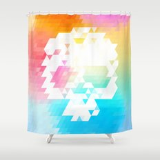 Skull Colors Shower Curtain