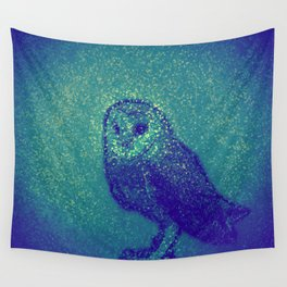 Owl ... Wall Tapestry