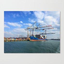 Southampton Port Canvas Print