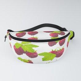 Tasty fresh raspberries Fanny Pack