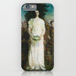 Abbott Handerson Thayer - My Children (Mary, Gerald, and Gladys Thayer) (1897) iPhone Case
