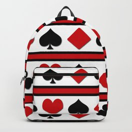 Four card suits Backpack