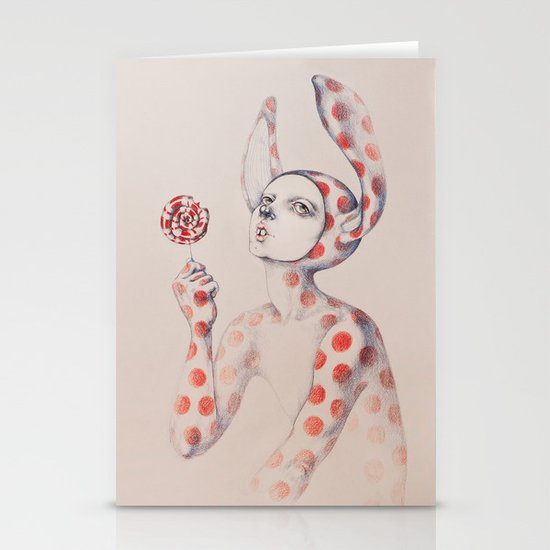 Can't resist the lollipop Stationery Cards