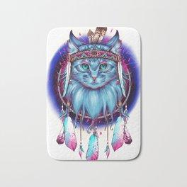Dreamcatcher Cat Bath Mat