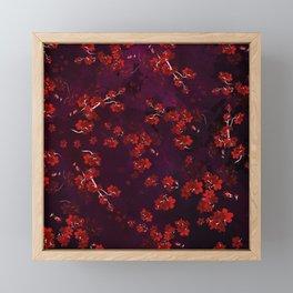 Cherry Flower 9 Framed Mini Art Print