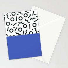 Memphis pattern 44 Stationery Cards