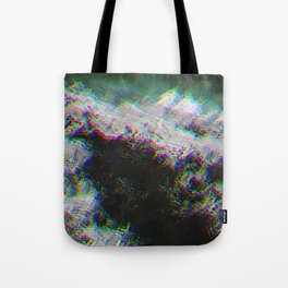 Oceanic Glitches - Oldest Waves Tote Bag