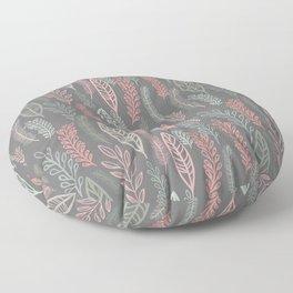 pastel floral Floor Pillow