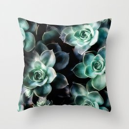 Succulent PATTERN IV Throw Pillow