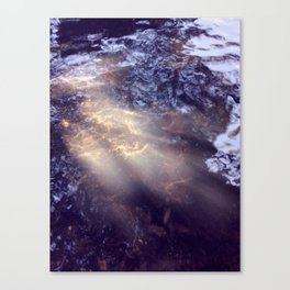 Ray Of Water Canvas Print