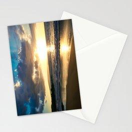 Poolenalena Beach Sunset Makena Maui Hawaii Stationery Cards