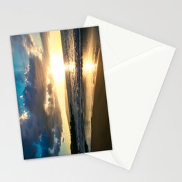 Poolenalena Beach Sunset Makena Maui Hawaii Stationery Cards
