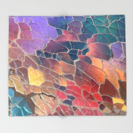 Shattered Prism Throw Blanket