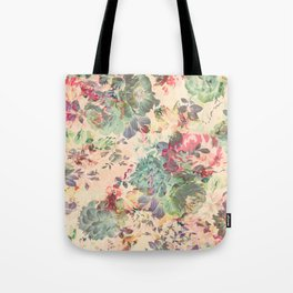 Flower Abstraction Tote Bag