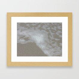 Beach Waves 3 Framed Art Print