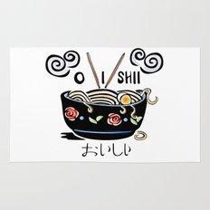 OISHII Noodle Bowl Rug