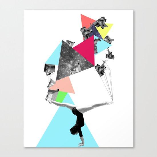 SHE WAS STRANGE Canvas Print
