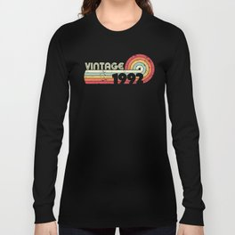 1992 Vintage Product, Birthday Gift Tee. Retro Style Design. Long Sleeve T-shirt