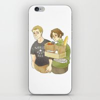 stucky iPhone & iPod Skins featuring stucky domestic by maria euphemia