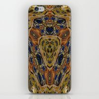 hippy iPhone & iPod Skins featuring Hippy by RingWaveArt