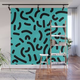 Wiggles & Squiggles Wall Mural
