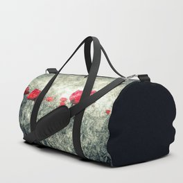 Poppies & Letters Duffle Bag