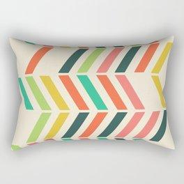 Color line pattern Rectangular Pillow