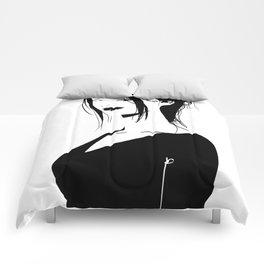 Brunette Comforters