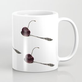 Balance of life- cherry and vintage spoon Coffee Mug
