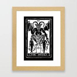 The Devil by Shayne of the Dead Framed Art Print