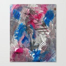 Vesalius Memento Mori Canvas Print