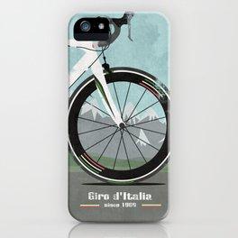 Giro d'Italia Bike iPhone Case