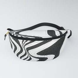 Funky Stripes Fanny Pack