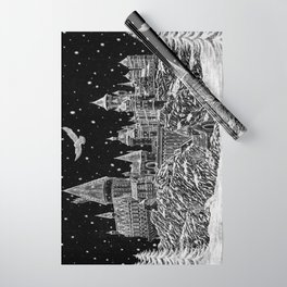 Holiday at Hogwart Wrapping Paper