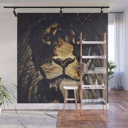 Noble Lion Wall Mural