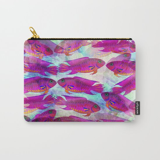 Sea Of Fish Carry-All Pouch