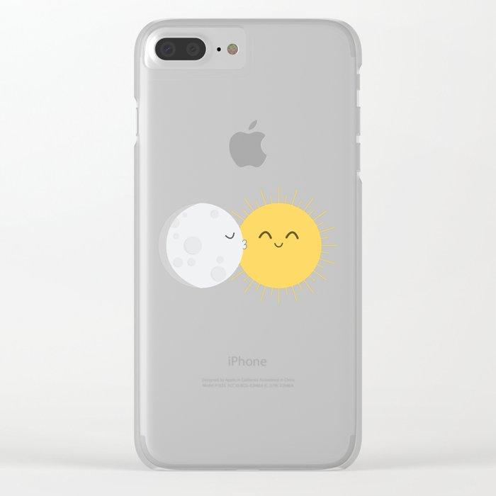 I Love You Sun! Clear iPhone Case