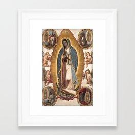 Virgin of Guadalupe, 1700 Framed Art Print