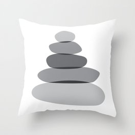 Cairn Stones 02 Throw Pillow